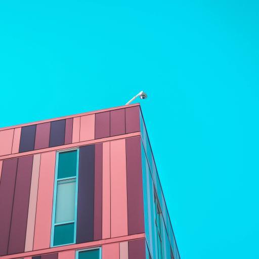 建筑 天空 蔚蓝 色彩