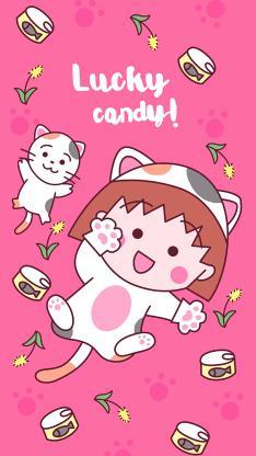 日系 樱桃小丸子 lucky candy