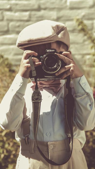 儿童 照相机 摄影