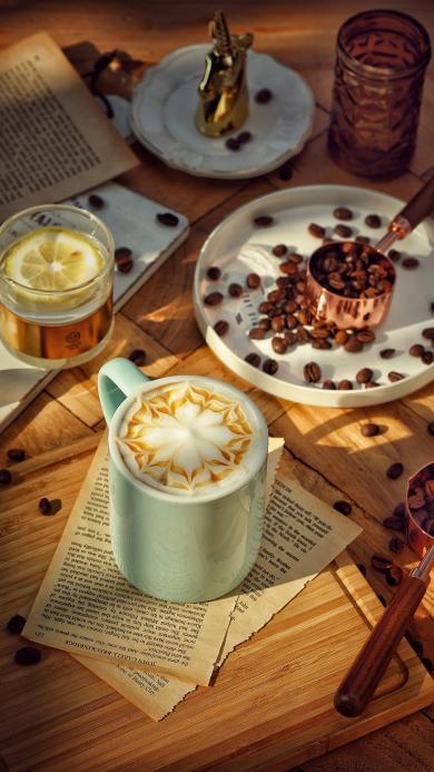 饮品 咖啡 提神 咖啡豆