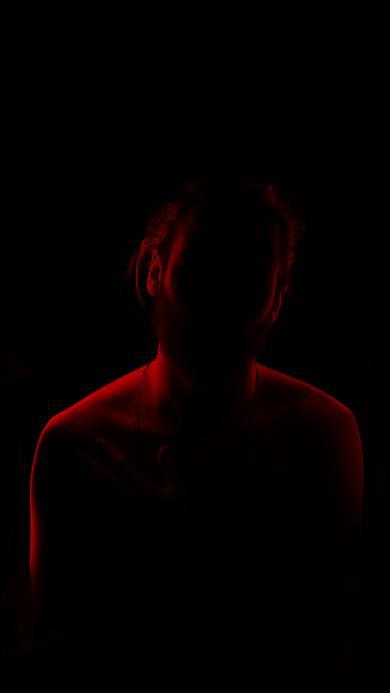 阴影 黑暗 朦胧 人影