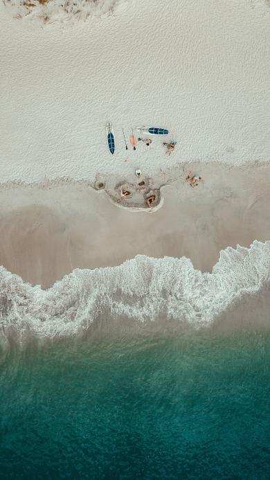 大海 浪花 海滩 冲浪板