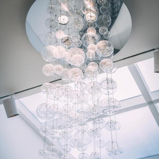 装饰 吊饰 玻璃泡 艺术品 垂吊