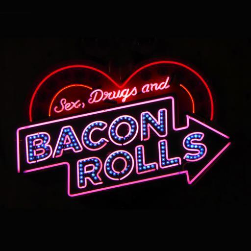 灯牌 荧光灯 bacon rolls
