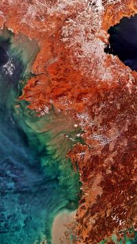 地质 地理 地貌 色彩 科学