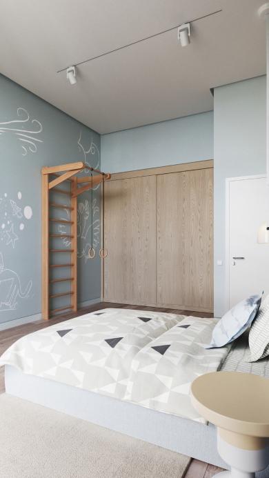 卧室 室内 现代简约 设计 床