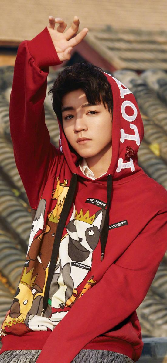 王俊凯 歌手 TFBOYS 演员 明星 屋顶