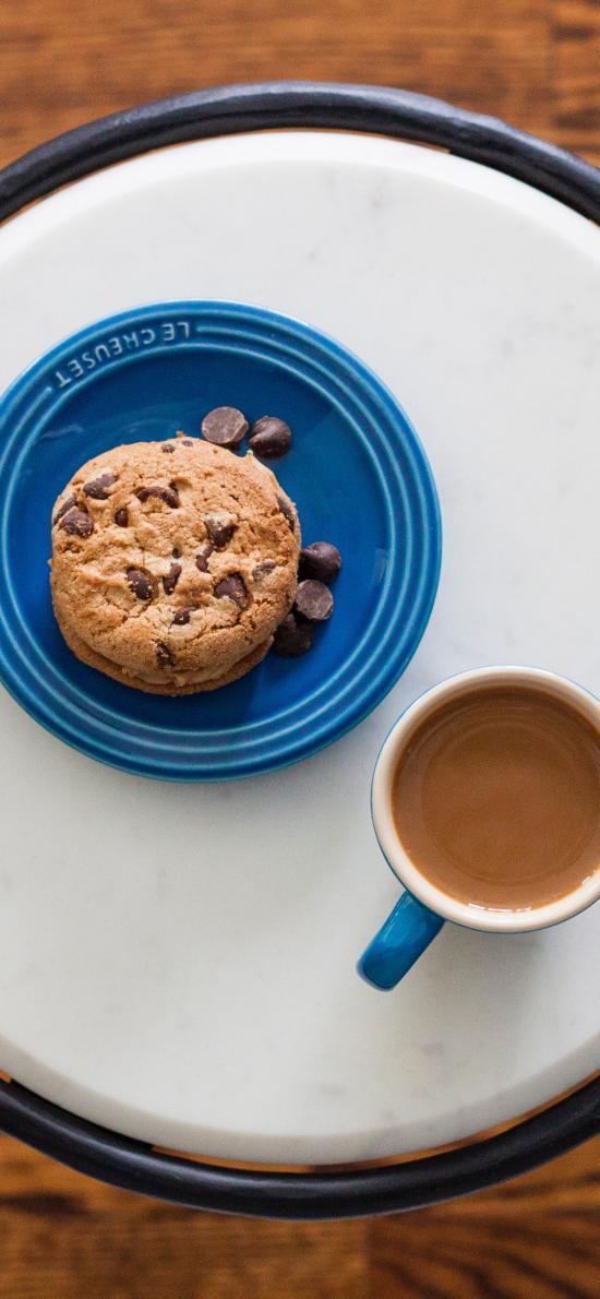 饼干 咖啡 小点心 托盘