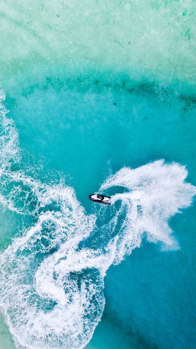 摩托艇 水上摩托 高速竞技运动