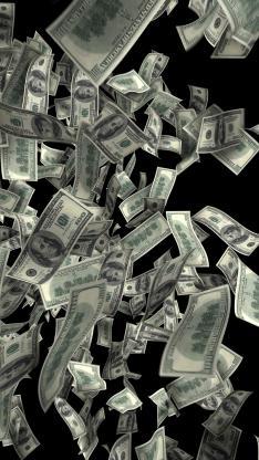 美元 钞票 纸币 发财 钱