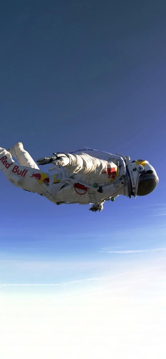 太空人 宇航員 飛行 天空 航空 天文 科學