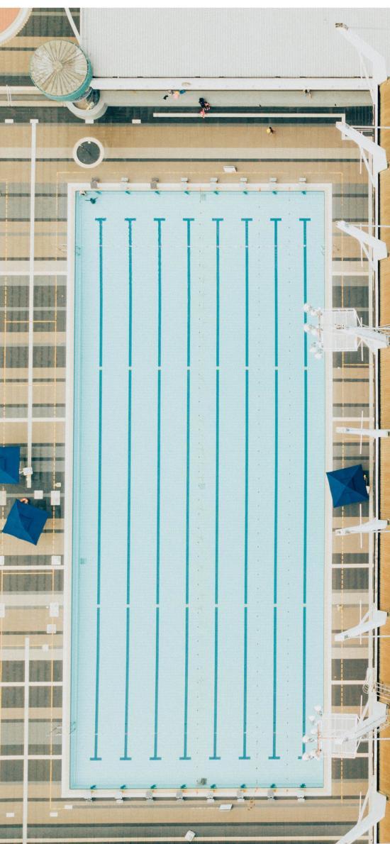 游泳池 室外 露天
