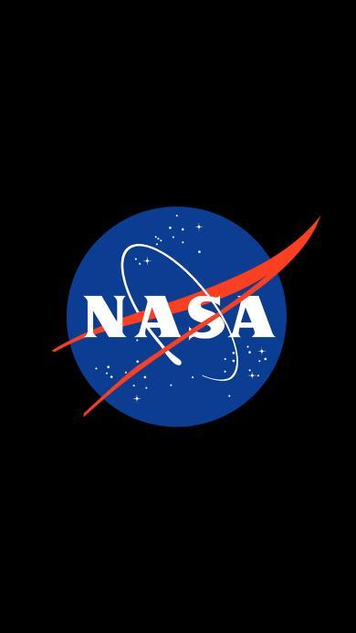 NASA 美国国家航空航天局 黑色 logo