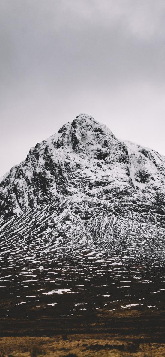 自然 山峰 白雪覆盖 壮观