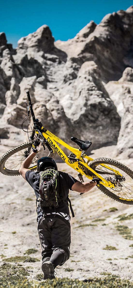 骑行 运动 山地自行车 单车 体力