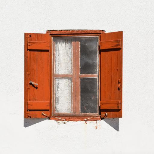 窗 玻璃 房屋 墙