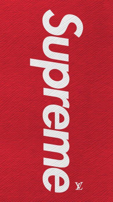 Supreme LV 联合 品牌 LOGO