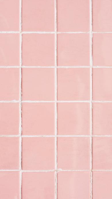 瓷砖 粉色 正方形 铺