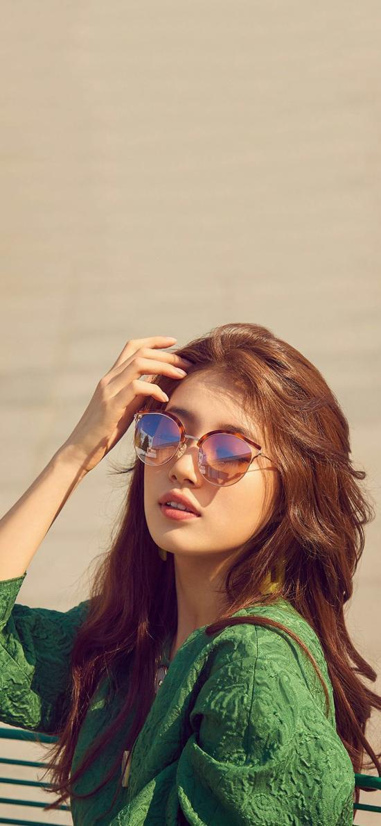 裴秀智 韩国 演员 歌手 明星 艺人 墨镜
