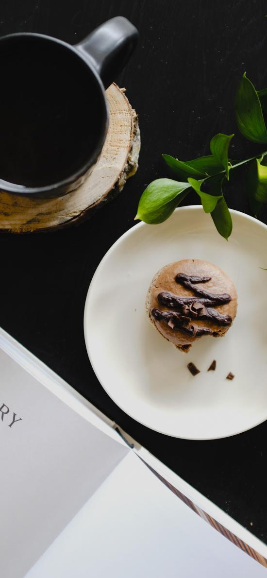 点心 马卡龙 饼干 咖啡