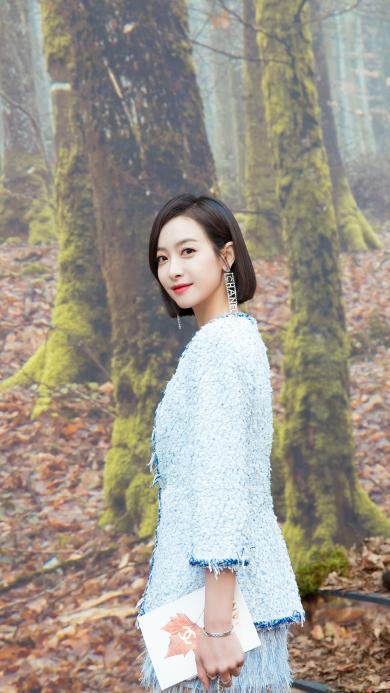 宋茜 艺人 演员 女星 短发