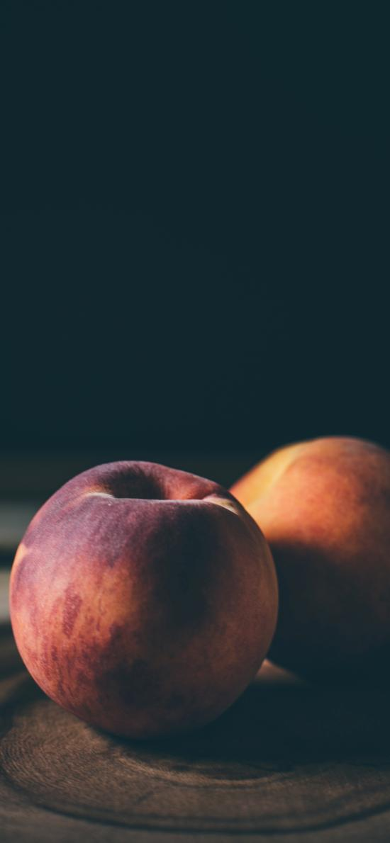 桃子 水果 毛桃 特写
