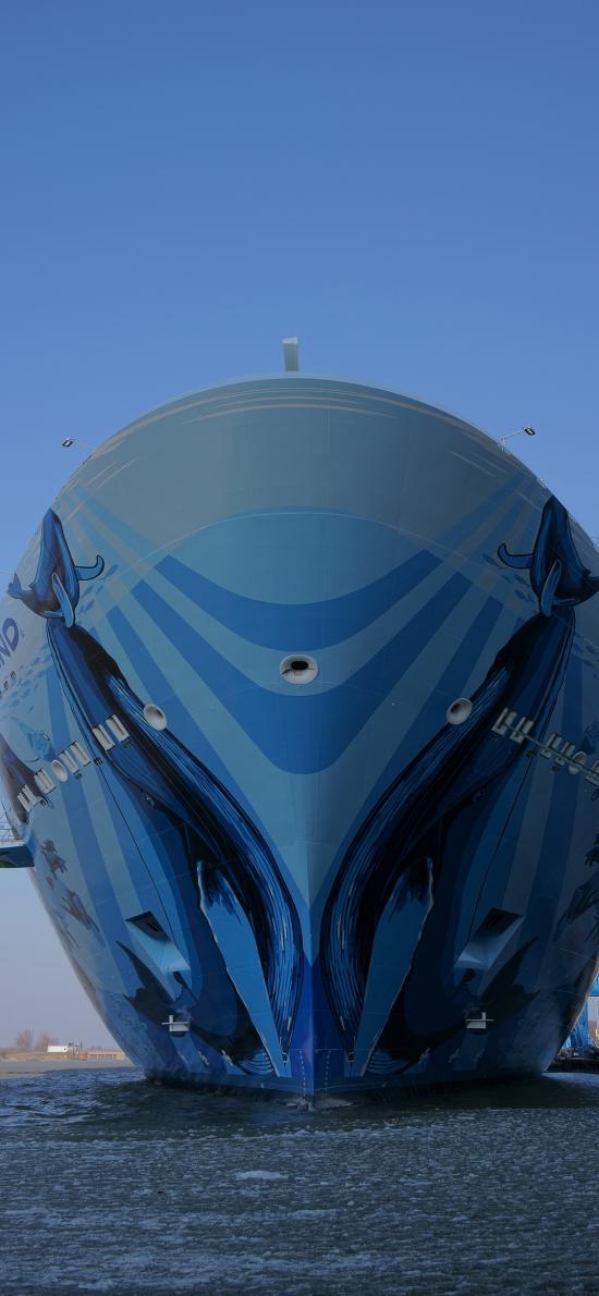 游轮 大海 蓝色 船 航海