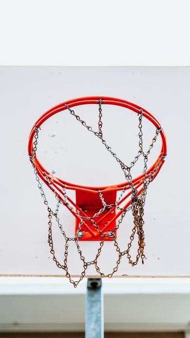 篮球框 体育 运动 铁链