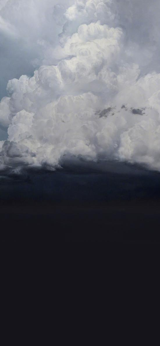 天空 云朵 无语 黑暗