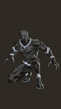 黑豹 超级英雄 漫威 欧美 黑暗 电影 炫酷