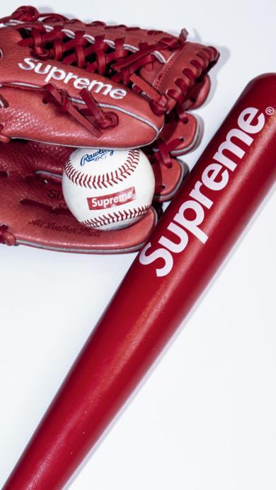 supreme 棒球棍 棒球
