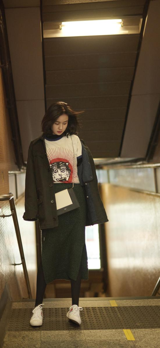 鄭合惠子 演員 明星 香港 街拍