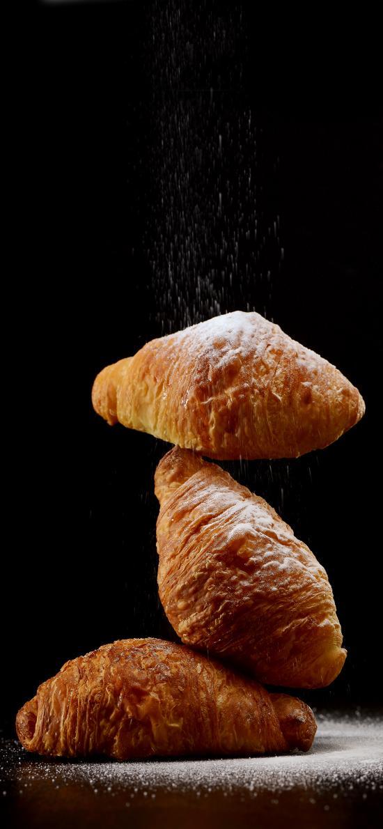 面点 牛角包 烘焙 面包 可颂