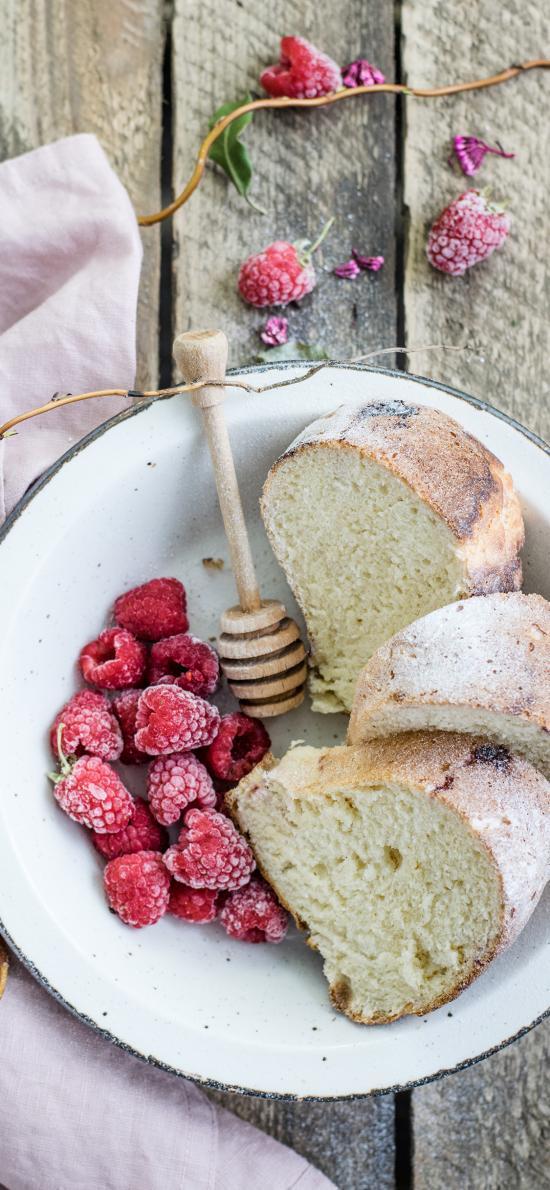 面点 蔓越莓 面包 木棒