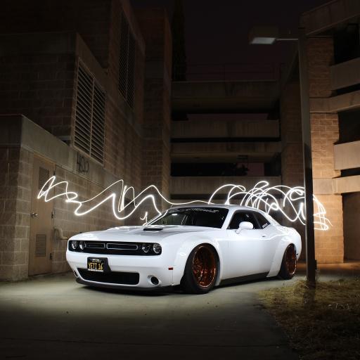 超级跑车 炫酷 夜 道路