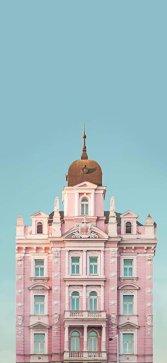建筑 粉色 大楼 设计