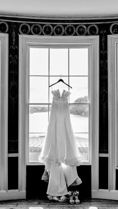 裙子 礼服 婚纱 黑白