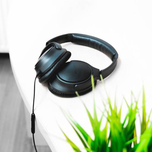 耳机 绿植 简约 盆栽