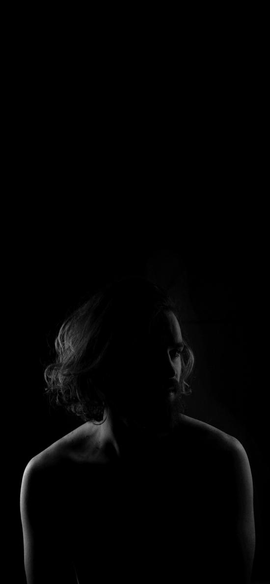 欧美型男 黑白 艺术 写真