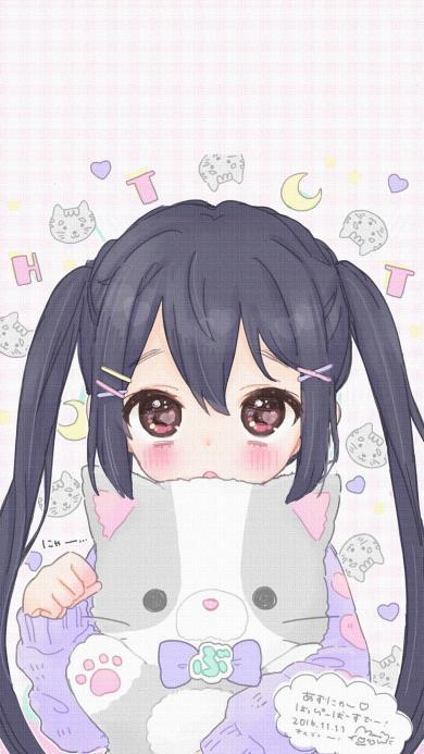 日系 动漫 萝莉 猫咪 可爱