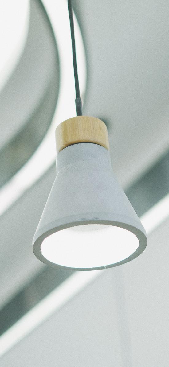 家居 吊燈 白色 簡約 照明