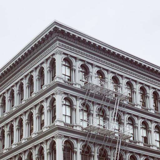 建筑 灰白 室外 设计