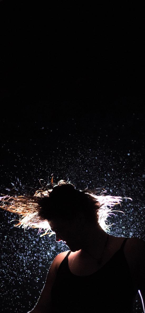 创意 摄影 欧美 旋转 水花