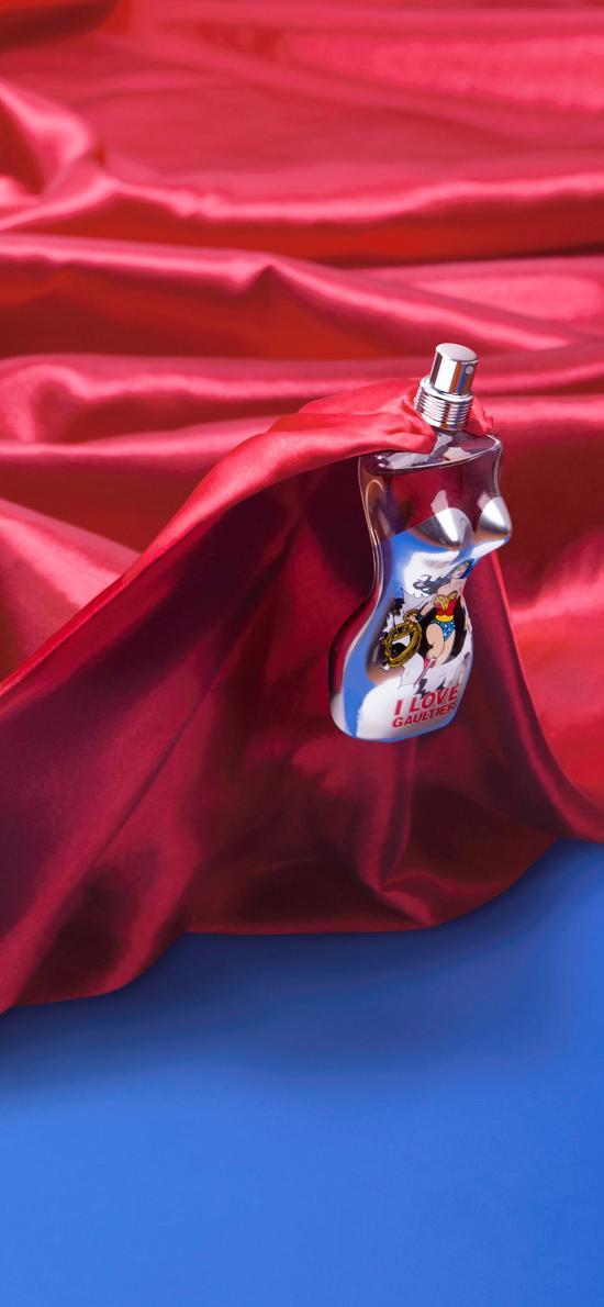 香水 女性 超人 披风