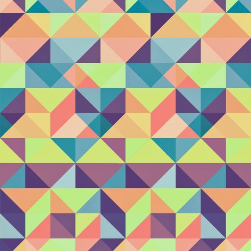 几何 色彩 三角形 平铺