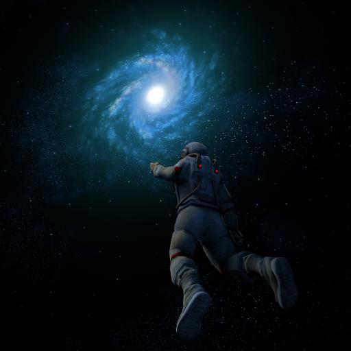 太空人 宇宙 星空 天文 科学 神秘
