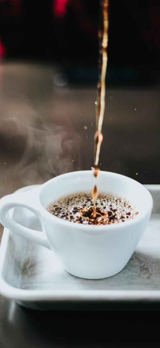咖啡 饮品 气泡 杯具
