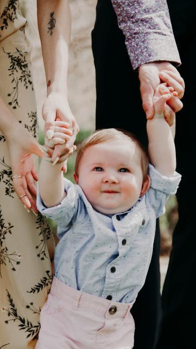 欧美 宝宝 婴儿 金发 可爱