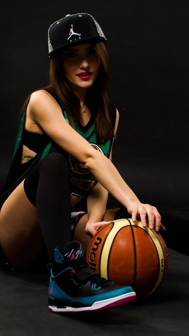 篮球 女孩 性感 运动