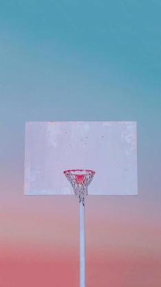 球框 篮球 渐变 运动